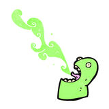 Cartoon gross slimy gross Stock Images
