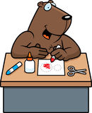 Cartoon Groundhog Crafts Royalty Free Stock Photography