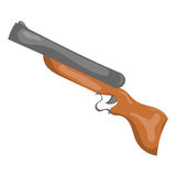 Cartoon gun. Stock Images