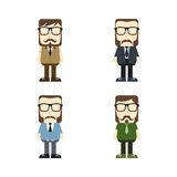 Cartoon guy avatar picture Stock Photography