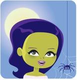 Girl Monster Halloween Costume Stock Images