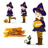 Cartoon Halloween Character Royalty Free Stock Images