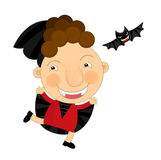 Cartoon halloween child Royalty Free Stock Image