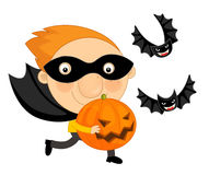Cartoon halloween child Stock Photo