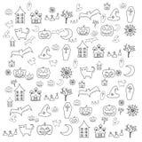 Cartoon halloween doodle element Royalty Free Stock Image
