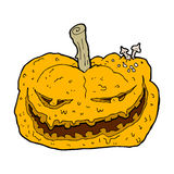 Cartoon halloween pumpkin Royalty Free Stock Image