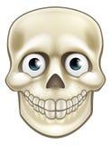 Cartoon Halloween Skull Skeleton Character Royalty Free Stock Image