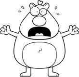 Cartoon Hamster Panicking Stock Photography