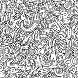 Cartoon hand-drawn doodles car style theme Royalty Free Stock Photography