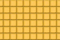 Cartoon hand drown golden seamless decorative old tiles texture Royalty Free Stock Photos