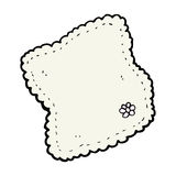 Cartoon handkerchief Royalty Free Stock Images