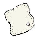 Cartoon handkerchief Royalty Free Stock Images