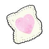 Cartoon handkerchief Stock Images