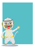 Cartoon Hanuman Royalty Free Stock Photo