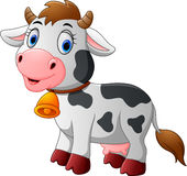 Cartoon Happy cartoon cow Royalty Free Stock Photography