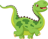 Cartoon happy dinosaur Royalty Free Stock Photography