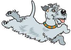 Cartoon happy dog Stock Photo
