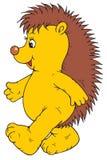 Cartoon Happy Hedgehog Royalty Free Stock Image