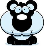 Cartoon Happy Panda Cub Royalty Free Stock Images