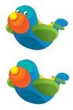 Cartoon happy plane -  Royalty Free Stock Images