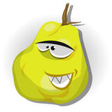 Cartoon Happy Quince Character Royalty Free Stock Image