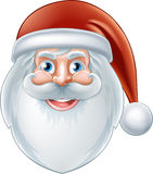 Cartoon Happy Santa Claus Stock Images