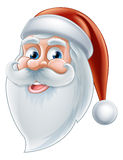 Cartoon Happy Santa Stock Photo