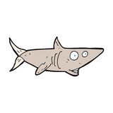 cartoon happy shark Stock Image