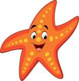Cartoon happy starfish. Illustration of Cartoon happy starfish Royalty Free Stock Photos