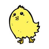 cartoon happy yellow bird Royalty Free Stock Photography