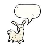 Cartoon hare Royalty Free Stock Photo