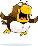 Cartoon Hawk Flying Royalty Free Stock Photography