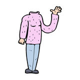 Cartoon headless body (mix and match cartoons or add own photo) Royalty Free Stock Photography