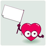 Cartoon heart Royalty Free Stock Photo