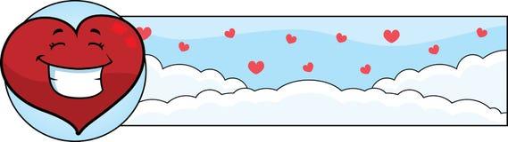 Cartoon Heart Graphic Stock Photo