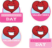 Cartoon Heart Graphic Royalty Free Stock Image
