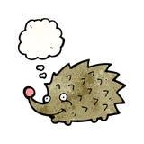 Cartoon hedgehog Stock Photos