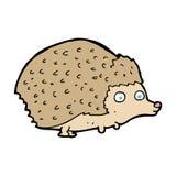 Cartoon hedgehog Royalty Free Stock Images