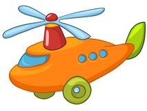 Cartoon Helicopter Royalty Free Stock Photography