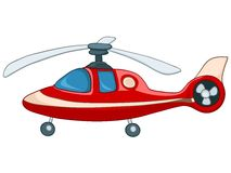Cartoon Helicopter Royalty Free Stock Image