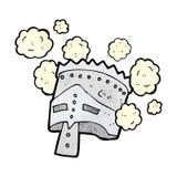 Cartoon helmet Royalty Free Stock Photo