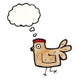 cartoon hen Stock Image