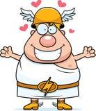 Cartoon Hermes Hug Stock Photo