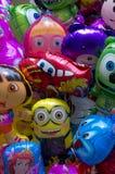Cartoon heroes Royalty Free Stock Photos