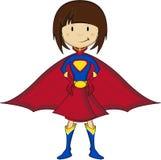 Cartoon Heroic Superhero Royalty Free Stock Photos