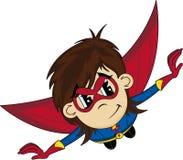 Cartoon Heroic Superhero Stock Photo