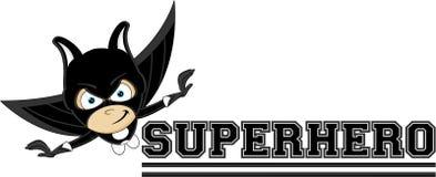 Cartoon Heroic Superhero Stock Image