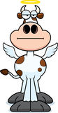 Cartoon Holy Cow Bored Stock Photos