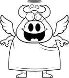 Cartoon Holy Cow Royalty Free Stock Photo