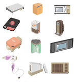 Cartoon home appliance icon Stock Photo